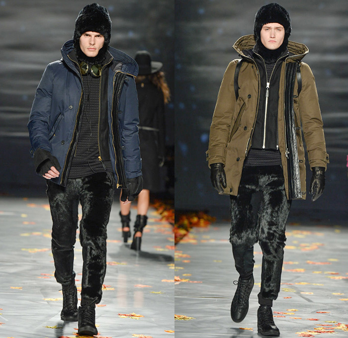 Mackage 2014 2015 Fall Winter Mens Runway Denim Jeans