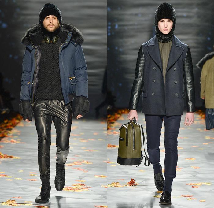 Mackage 2014-2015 Fall Autumn Winter Mens Runway Looks - World MasterCard  Fashion Week Toronto d1ed150163a