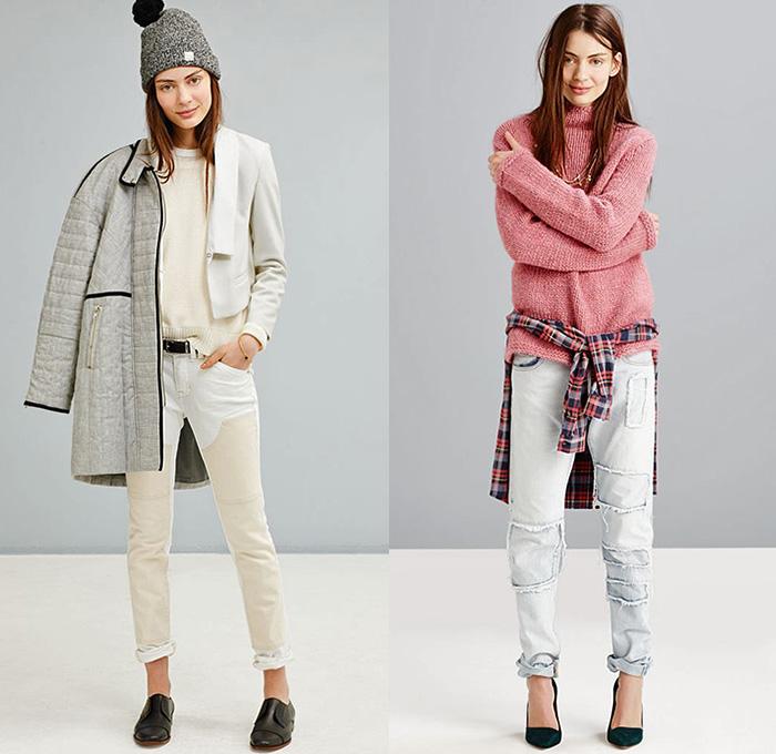 Madewell 2014 2015 Fall Winter Womens Lookbook Denim