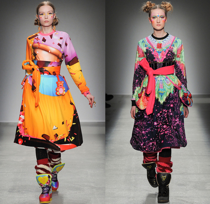 Manish Arora 2014 2015 Fall Winter Womens Denim Jeans Fashion Week Runway Catwalks Fashion Shows Season Collections Lookbooks Fashion Forward Curation Trendcast Trendsetting Forecast Styles Spring Summer Fall Autumn Winter Designer Brands
