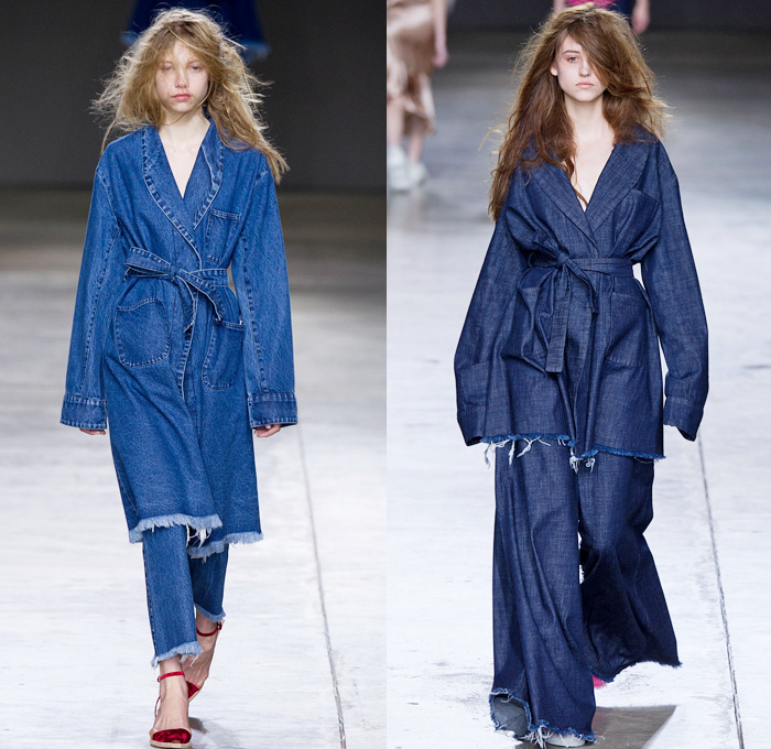 Marques Almeida 2014 2015 Fall Winter Womens Runway