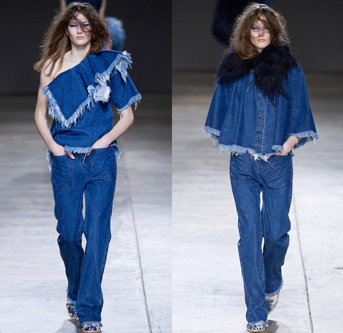Marques' Almeida 2014-2015 Fall Winter Womens Runway ...