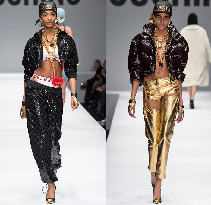 Moschino 2014 2015 Fall Winter Womens Runway Denim Jeans
