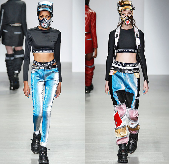 Mens fashion forecast 2017 - Nasir Mazhar 2014 2015 Fall Winter Womens Runway Denim