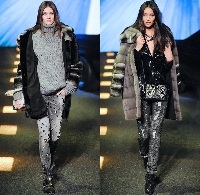 Philipp Plein 2014-2015 Fall Autumn Winter Womens Runway Looks - Milano  Moda Donna Milan