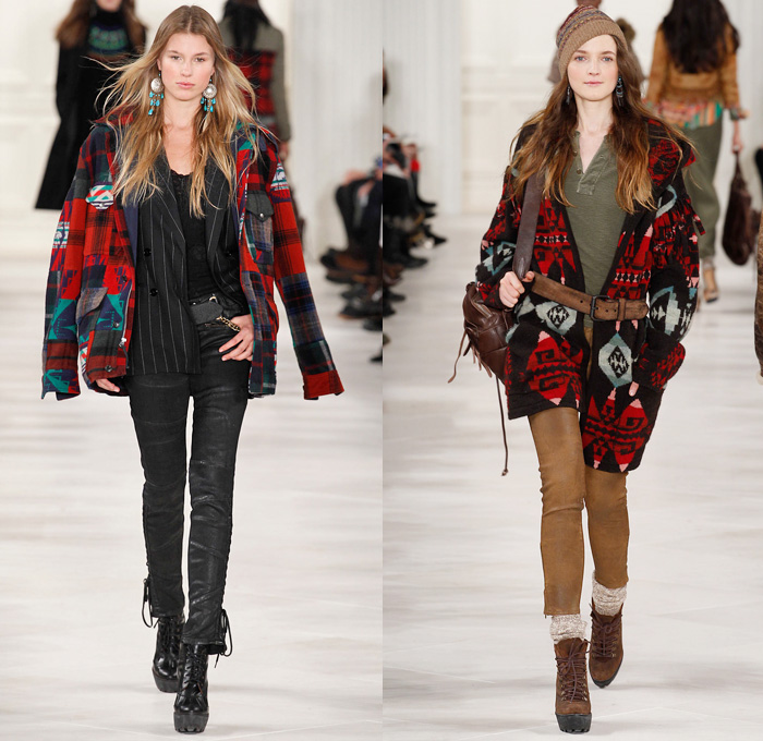Polo Ralph Lauren 2014-2015 Fall Autumn Winter Womens Runway Looks Fashion  - Mercedes- dc5f5907c5ac