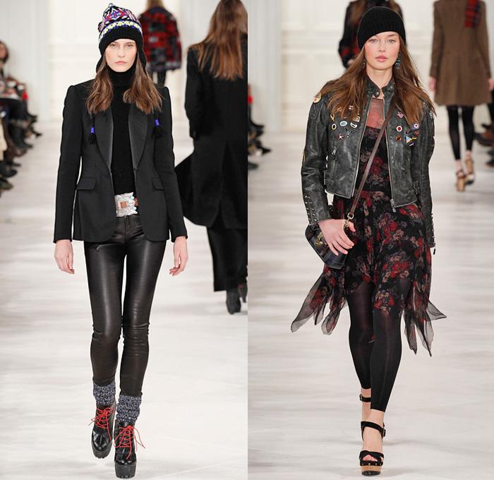 16e8689ca52c7 Polo Ralph Lauren 2014-2015 Fall Autumn Winter Womens Runway Looks Fashion  - Mercedes-