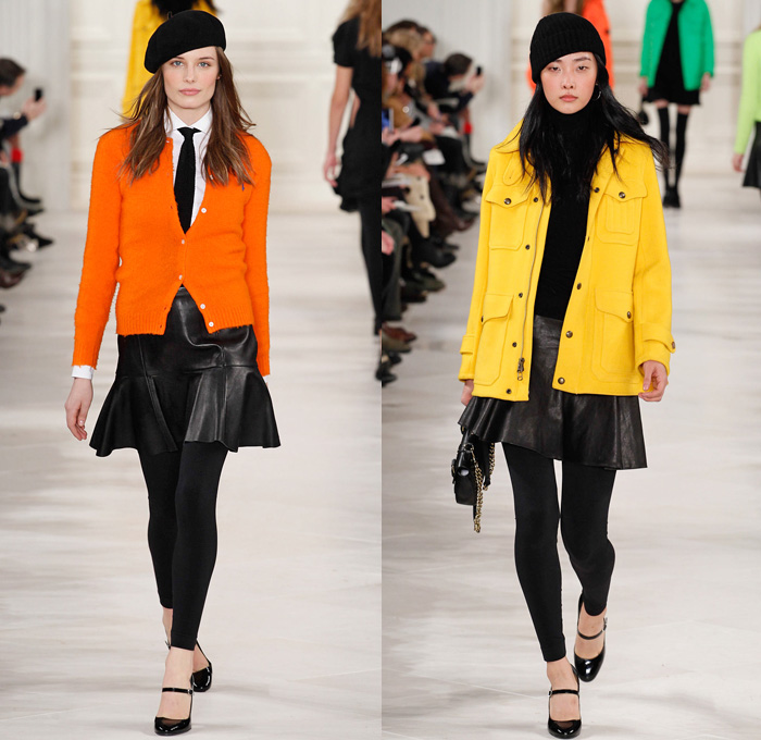 Polo Ralph Lauren 2014 2015 Fall Winter Womens Runway
