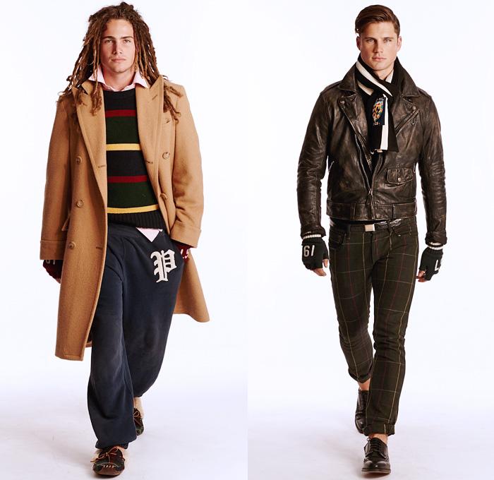 Ralph Lauren 2014 Fall Mens Presentation Denim Jeans