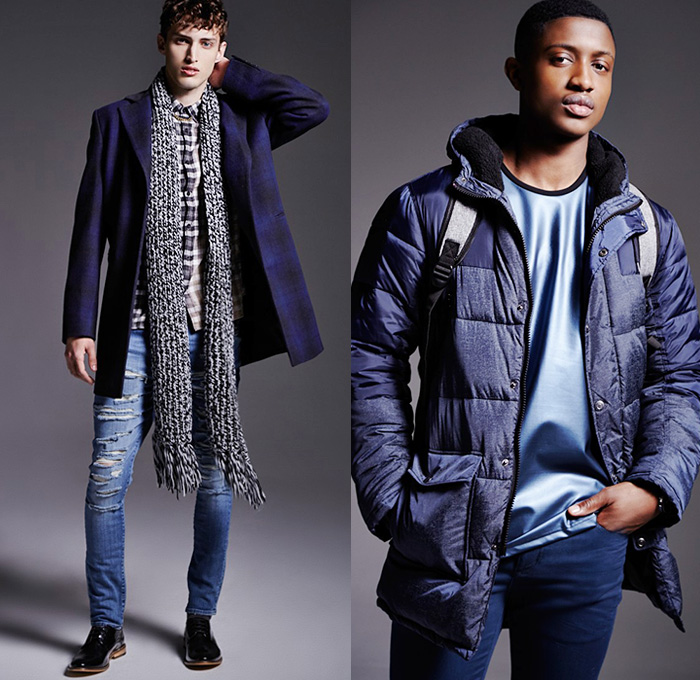 River Island 2014 2015 Fall Winter Mens Lookbook Denim
