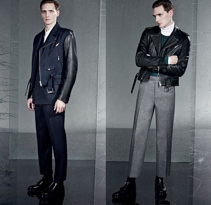 Sandro Paris 2014 2015 Fall Winter Mens Lookbook Denim