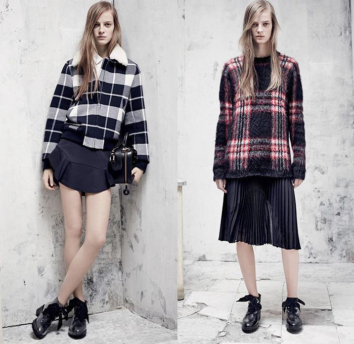 Sandro Paris 2014 2015 Fall Winter Womens Lookbook Denim