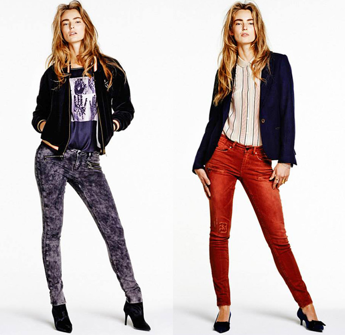 Scotch Soda Amsterdams Blauw 2014 2015 Fall Winter Looks