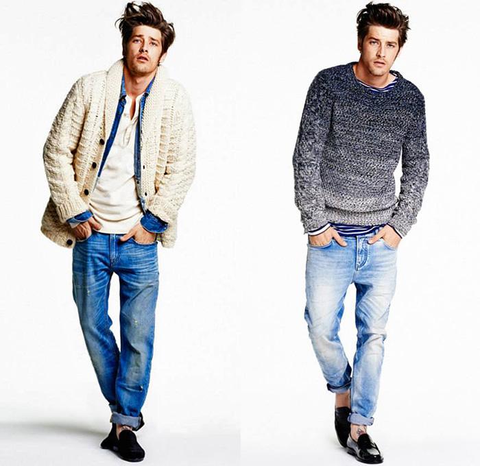 Blue Cardigan Sweater Womens
