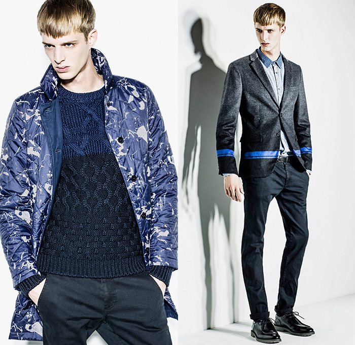 Sisley 2014 2015 Fall Winter Mens Lookbook Collection