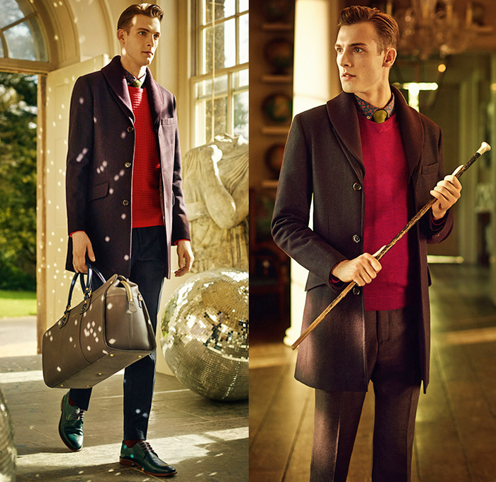 Ted Baker London 2014 2015 Fall Winter Mens Lookbook