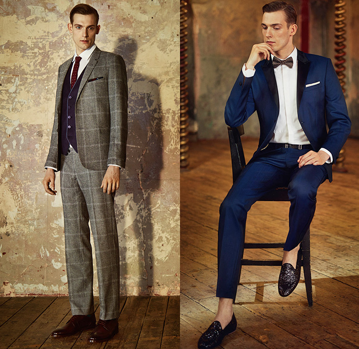 d756f14ef1fafa Ted Baker London 2014-2015 Fall Autumn Winter Mens Lookbook Collection Take  The Lead -
