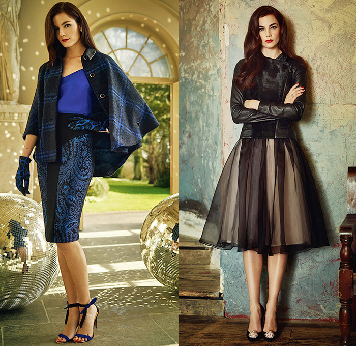 Ted Baker London 2014 2015 Fall Winter Womens Lookbook