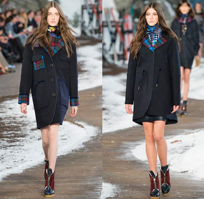tommy hilfiger 2014 2015 fall winter womens runway denim. Black Bedroom Furniture Sets. Home Design Ideas