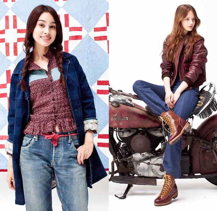 Visvim 2014 2015 Fall Winter Womens Looks Denim Jeans Fashion Week Runway Catwalks Fashion