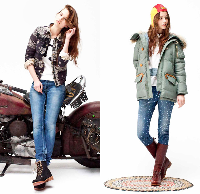 Visvim 2014-2015 Fall Winter Womens Looks