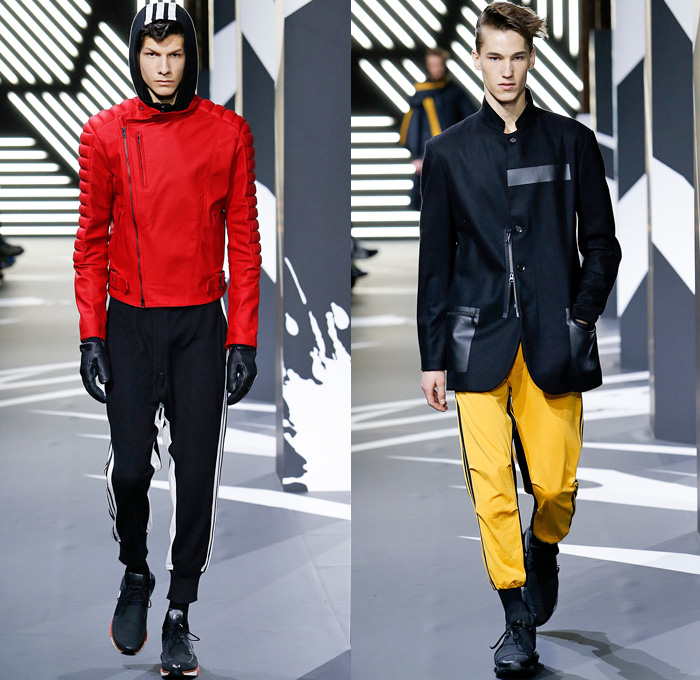 2014-2015 Fall Winter Mens Runway Looks | Denim Jeans Fashion Week ...