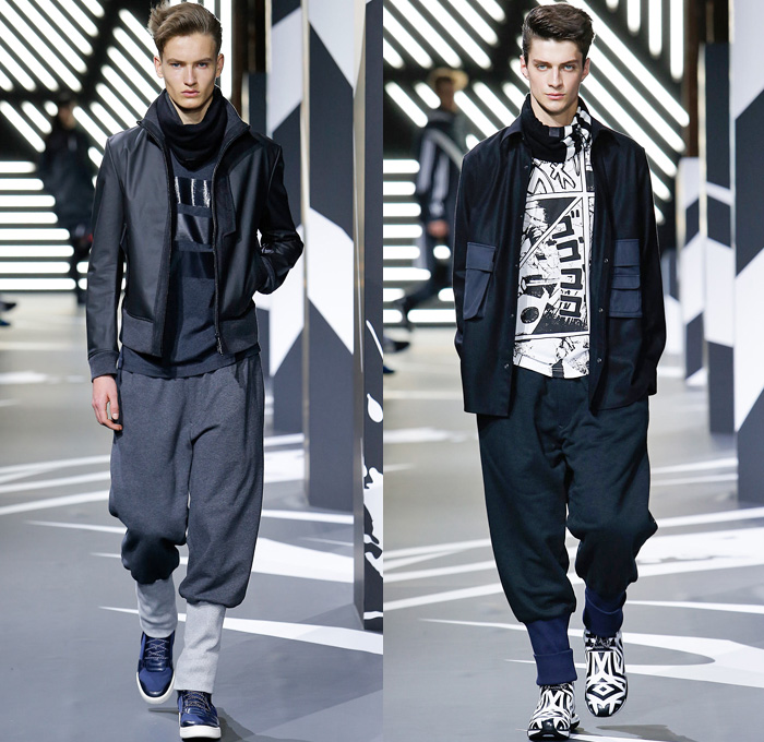 d0e8e94232dd8 Y-3 Yohji Yamamoto Adidas 2014-2015 Fall Autumn Winter Mens Runway Looks  Fashion