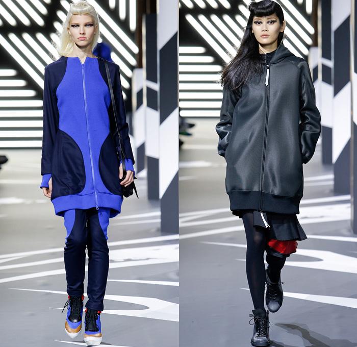 Yohji Yamamoto Adidas 2014-2015 Fall Autumn Winter Womens Runway ...