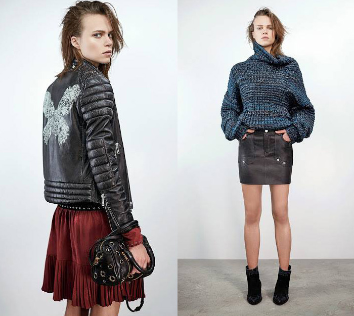 Zadig Et Voltaire 2014 2015 Fall Winter Womens Looks