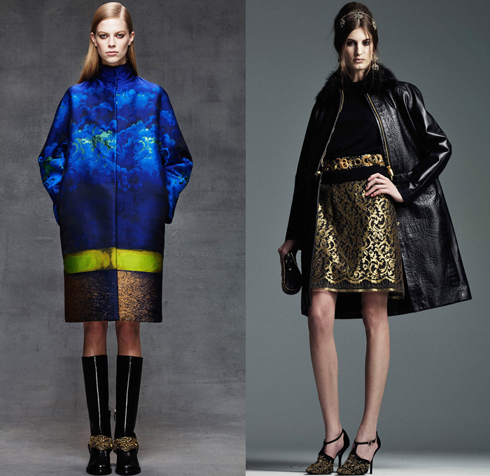 Alberta Ferretti 2014 Pre Fall Womens Looks Denim Jeans