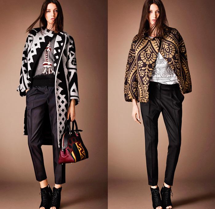 Burberry Prorsum 2014 Pre Fall Womens Looks Denim Jeans