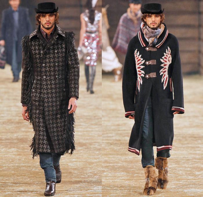 Chanel 2014 Pre Fall Mens Runway Looks Denim Jeans