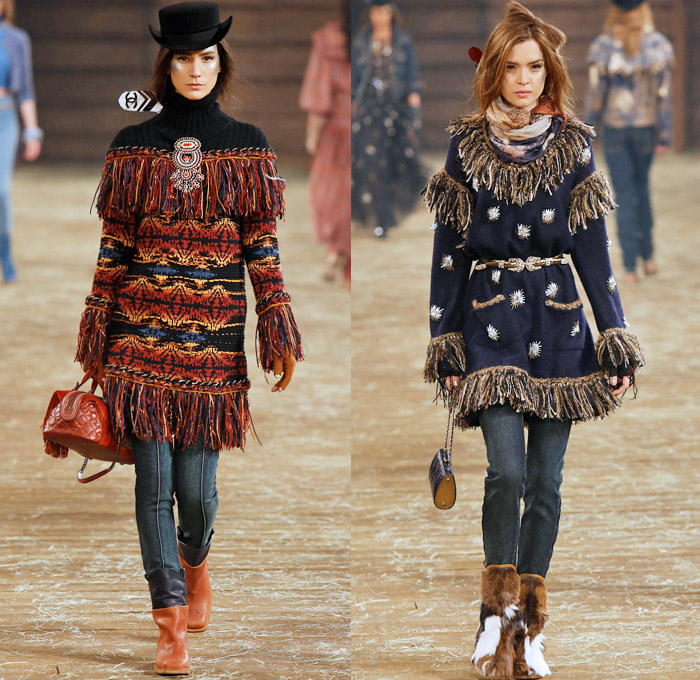 Chanel 2014 Pre Fall Womens Runway Looks