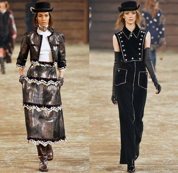 Chanel 2014 Pre Fall Womens Runway Looks Denim Jeans