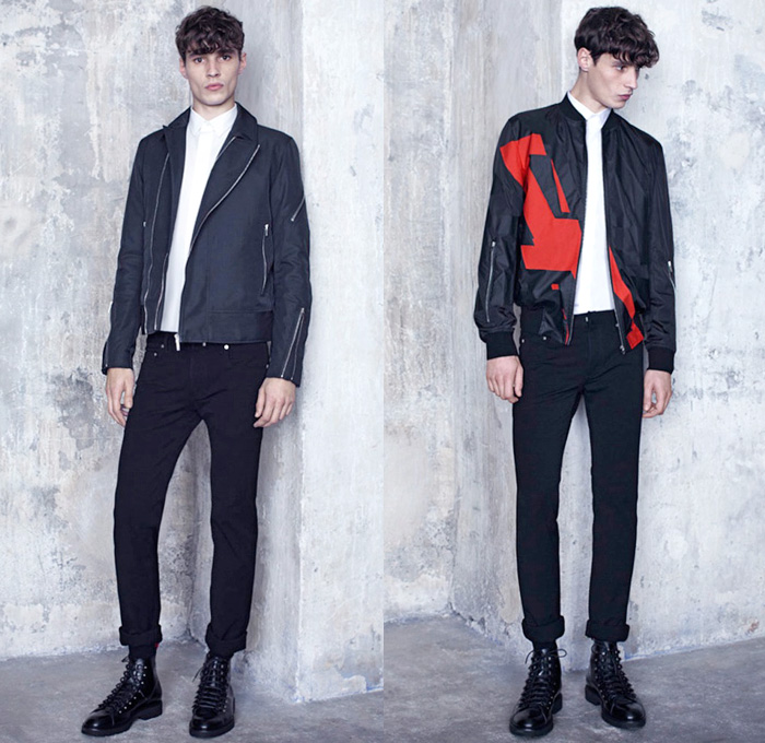 2017 fashion trend forecast - Dior Homme 2014 Pre Fall Mens Looks Denim Jeans Fashion