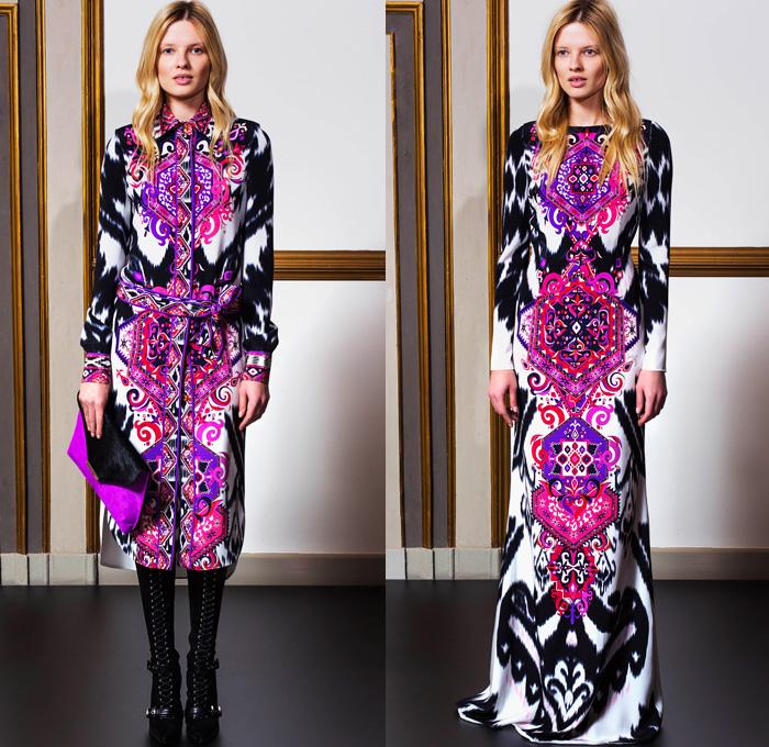 Emilio Pucci 2014 Pre Fall Womens Looks Denim Jeans