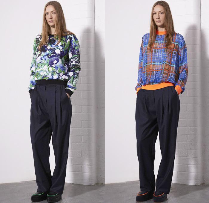 Emma Cook 2014 Pre Fall Womens Presentation Denim Jeans