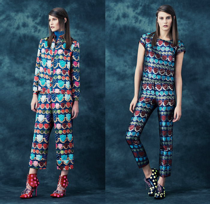 House Of Holland 2014 Pre Fall Womens Looks Denim Jeans