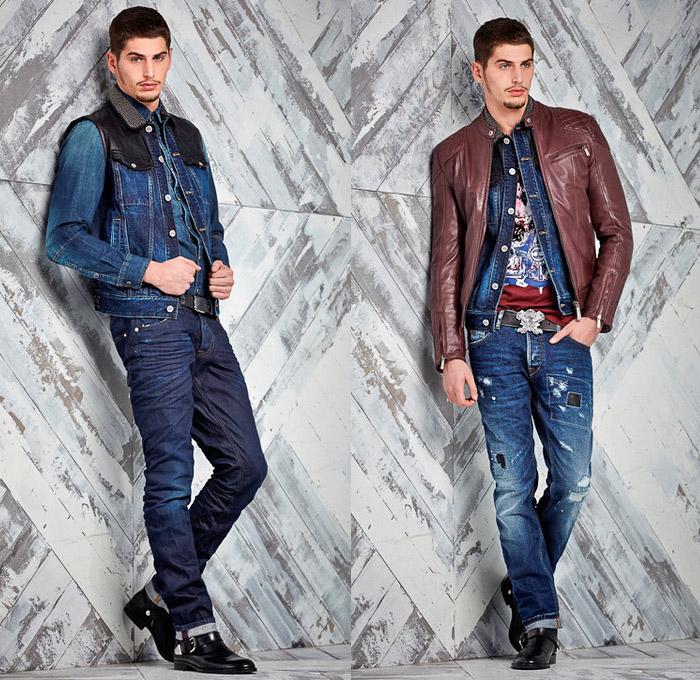 Jean Vest Mens