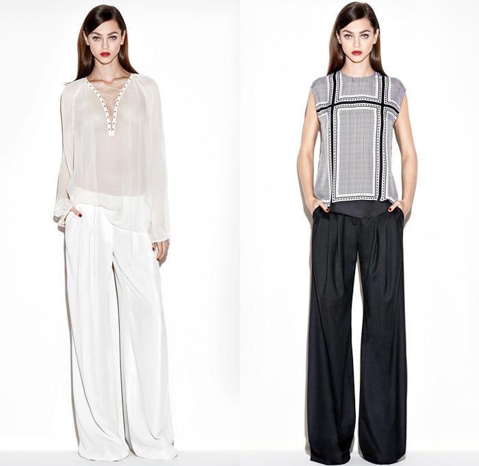 Rachel Zoe 2014 Pre Fall Womens Looks | Denim Jeans Fashion Week ...