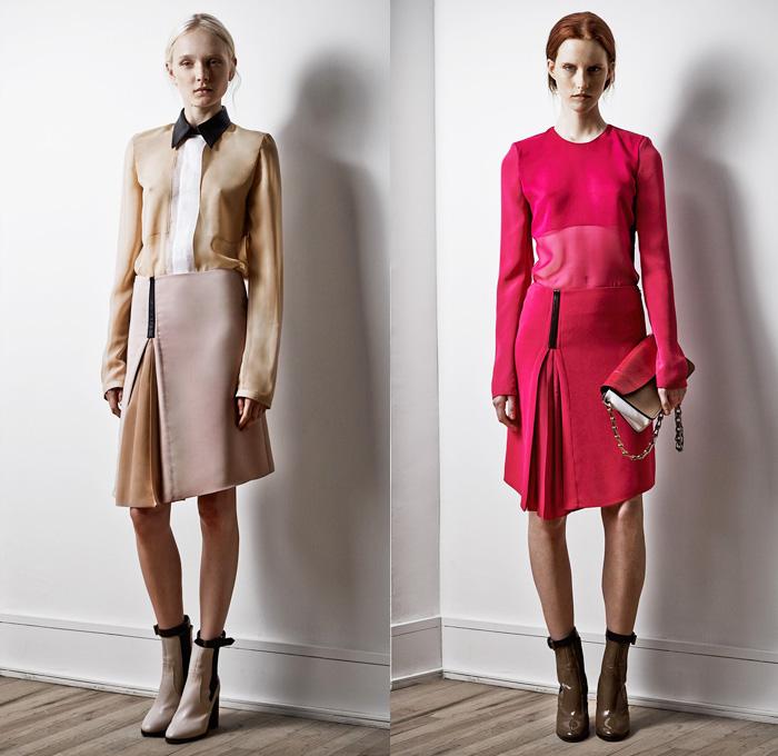 Reed Krakoff 2014 Pre Fall Womens Looks Denim Jeans