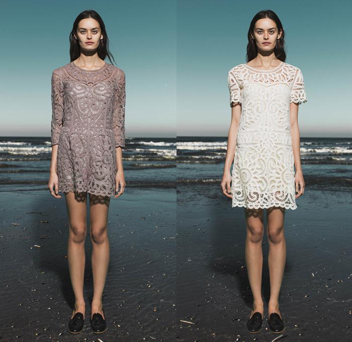 Sea New York 2017 Pre Fall Womens Presentation Autumn Collection Looks Denim Jeans
