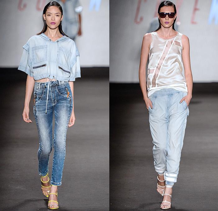 Jeans 2014-2015 Summer Womens Runway Looks - Temporada Verão 2014 ...