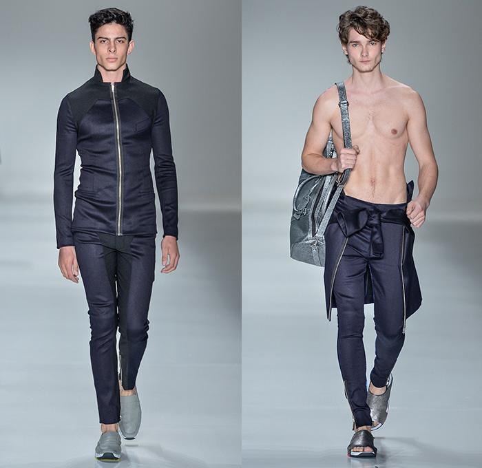 Jo O Pimenta 2014 2015 Summer Mens Runway Denim Jeans Fashion Week Runway Catwalks Fashion