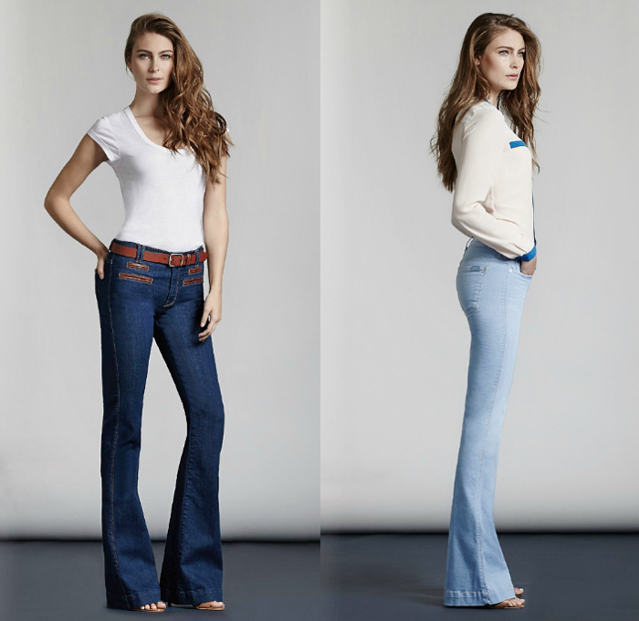7 For All Mankind 2014 Spring Womens Looks Denim Jeans