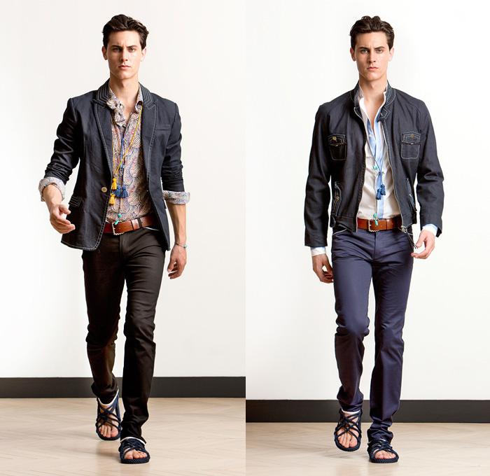 Alexis Mabille 2014 Spring Summer Mens Presentation Denim Jeans Fashion Week Runway Catwalks