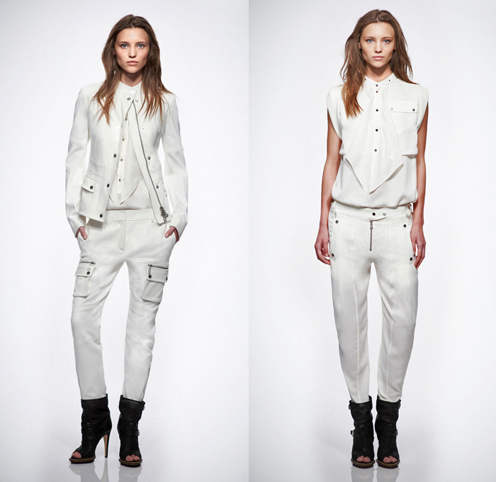 Belstaff 2014 Resort Womens Presentation - Cruise Collection Pre Spring: Designer Denim Jeans Fashion: Season Collections, Runways, Lookbooks and Linesheets