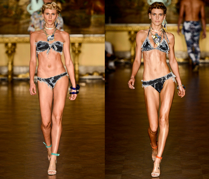 Blue Man Brasil 2014 Summer Womens Runway Collection - Fashion Rio - Rio de Janeiro Brazil Southern Hemisphere 2014 Verao Mulheres Desfile: Designer Denim Jeans Fashion: Season Collections, Runways, Lookbooks and Linesheets