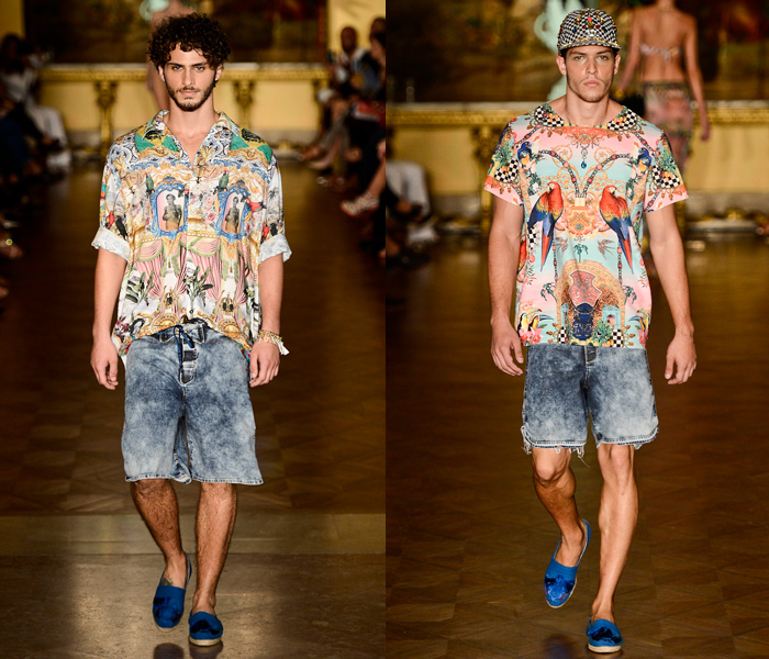 Blue Man Brasil 2014 Summer Mens Runway Collection - Fashion Rio - Rio de Janeiro Brazil Southern Hemisphere 2014 Verao Homens Desfile: Designer Denim Jeans Fashion: Season Collections, Runways, Lookbooks and Linesheets