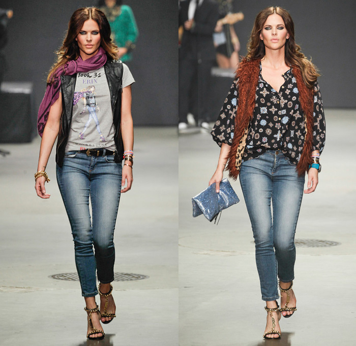 Maybelline New York presents ByDanie 2014 Spring Summer Womens Runway Collection - Danie Bles at Amsterdam Fashion Week: Designer Denim Jeans Fashion: Season Collections, Runways, Lookbooks and Linesheets